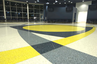 Terrazzo Project - commercial - American Eurocopter - Columbus, Mississippi