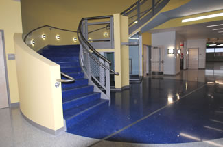 Terrazzo Project - education - STEM Science Building - Cherry Creek, Colorado