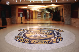 Terrazzo Project - education - Liberty North High School - Liberty, Missouri