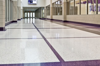 Terrazzo Project - education - University of St. Thomas Athletic Facility - St. Paul, Minnesota