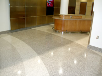 Terrazzo Project - education - Concordia College - Moorehead, Minnesota