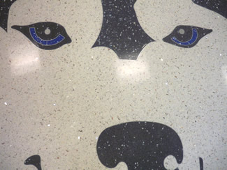 Terrazzo Project - education - Ritenour High School - St. Louis, Missouri