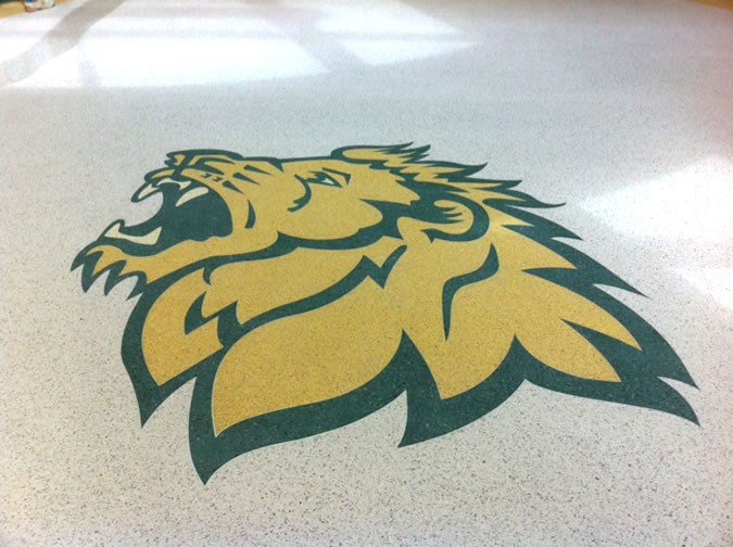 Terrazzo Project - education - MSSU Hearnes Hall - Joplin, Missouri