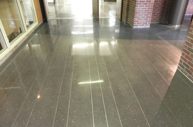 Terrazzo Project - education - UMD Kirby Center - Duluth, Minnesota